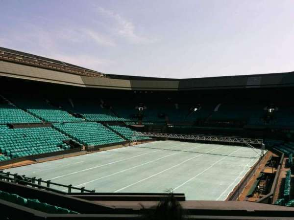 Wimbledon, Centre Court, secção: 205, fila: f, lugar: 157