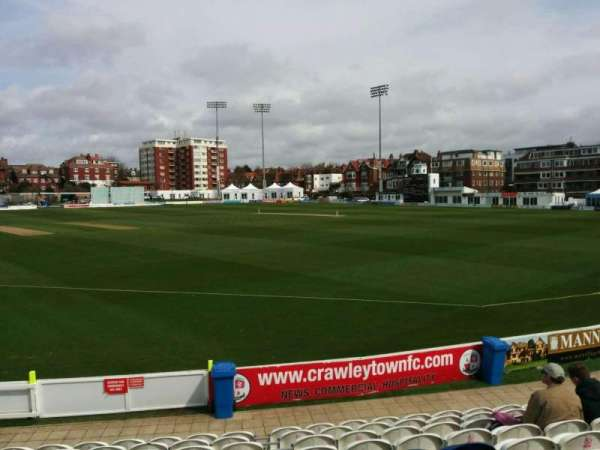 County Cricket Ground (Hove), fila: k, lugar: 25