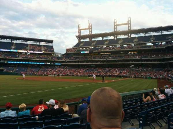 Citizens Bank Park, secção: 137, fila: 8, lugar: 5