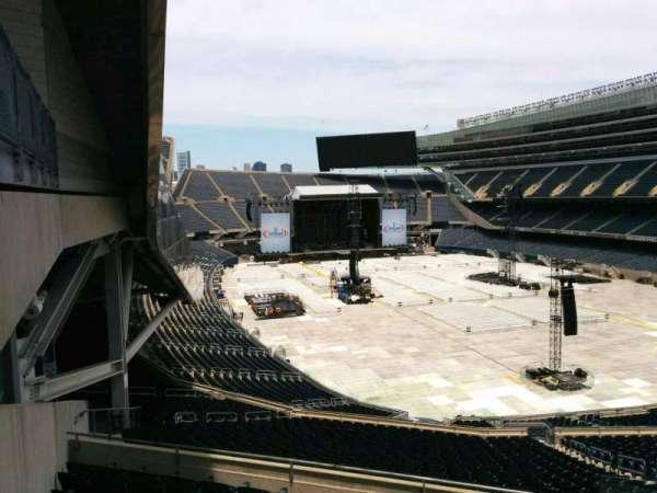 Soldier Field, secção: 326, fila: 9, lugar: 1
