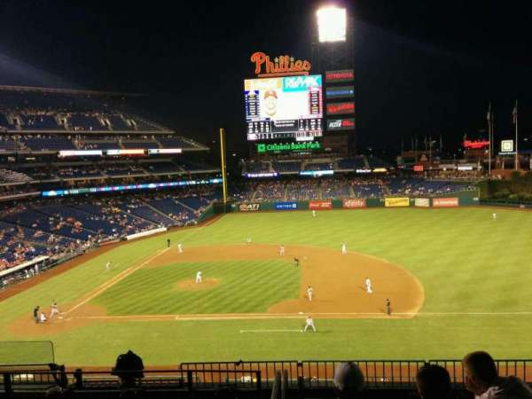 Citizens Bank Park, secção: 213, fila: 7, lugar: 6