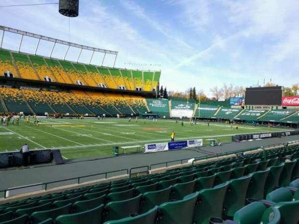 Commonwealth Stadium (Edmonton), secção: v, fila: 10, lugar: 12