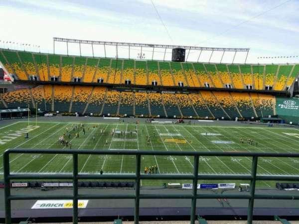 Commonwealth Stadium (Edmonton), secção: U, fila: 48, lugar: 2