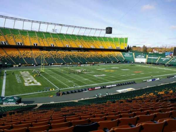 Commonwealth Stadium (Edmonton), secção: z, fila: 41, lugar: 17