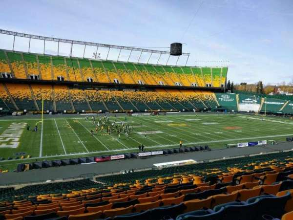 Commonwealth Stadium (Edmonton), secção: x, fila: 35, lugar: 9