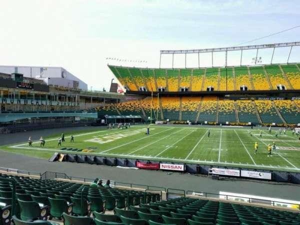 Commonwealth Stadium (Edmonton), secção: w, fila: 17, lugar: 12