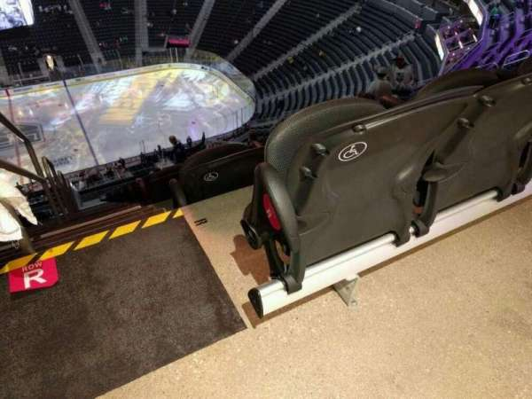 T-Mobile Arena, secção: 206