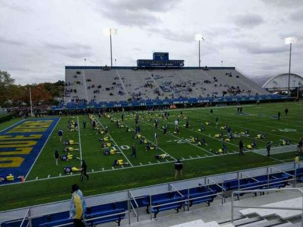 Delaware Stadium, secção: n, fila: j, lugar: 8