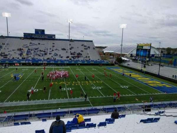 Delaware Stadium, secção: j, fila: y, lugar: 20