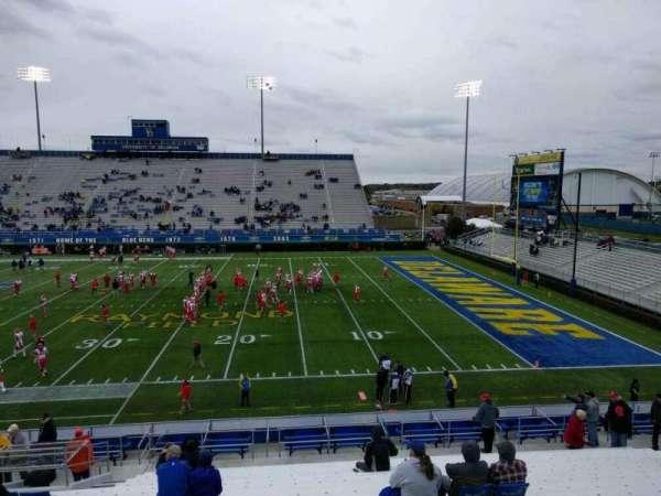 Delaware Stadium, secção: i, fila: t, lugar: 20