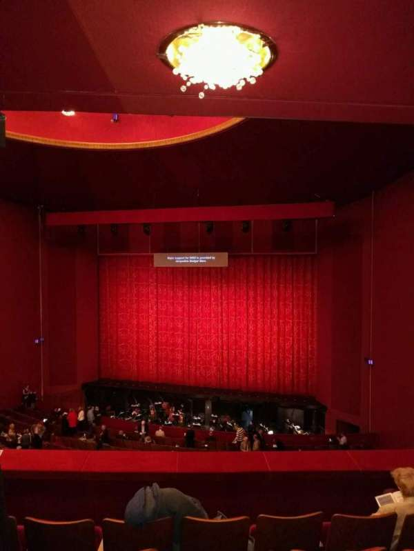 The Kennedy Center Opera House, secção: 1st teir, fila: e, lugar: 114