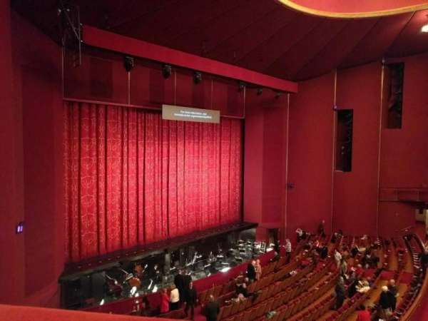 The Kennedy Center Opera House, secção: 1st tier, fila: a, lugar: 9