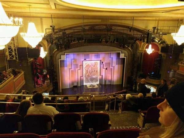 Lyric Theatre, secção: Balcony L, fila: G, lugar: 3