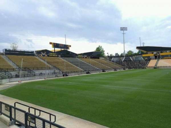 Fifth Third Bank Stadium, secção: 123, fila: c, lugar: 7