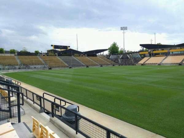 Fifth Third Bank Stadium, secção: 126, fila: c, lugar: 8