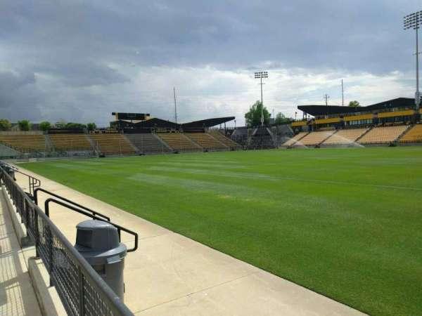 Fifth Third Bank Stadium, secção: 128, fila: a, lugar: 7