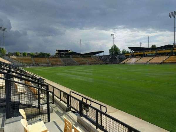 Fifth Third Bank Stadium, secção: 129, fila: c, lugar: 7