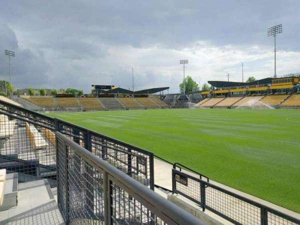 Fifth Third Bank Stadium, secção: 130, fila: d, lugar: 7