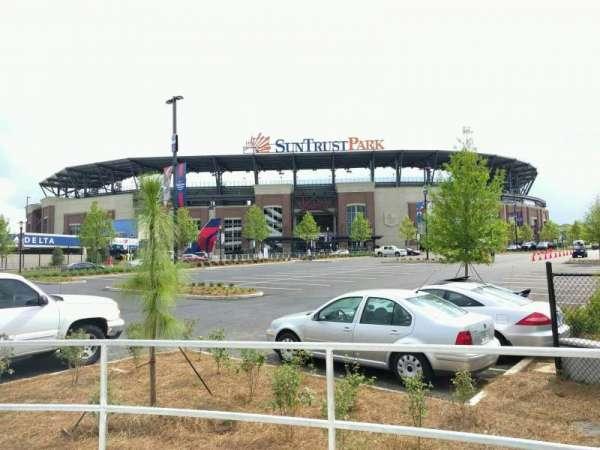 Truist Park, secção: 3rd Base Gate