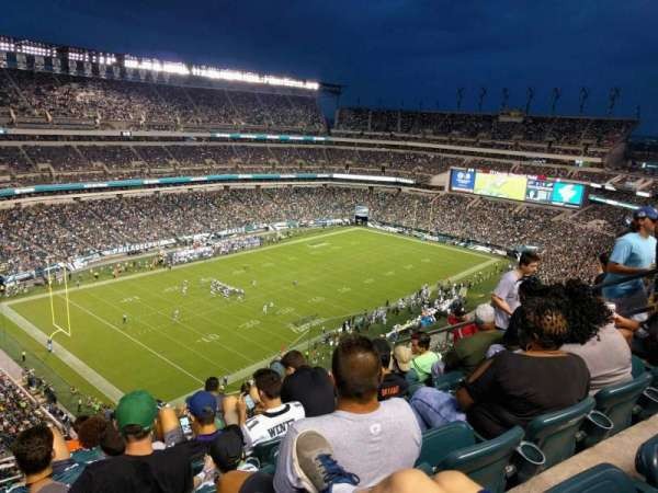 Lincoln Financial Field, secção: 239, fila: 13, lugar: 9