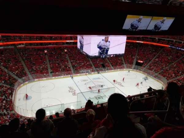 Little Caesars Arena, secção: 229, fila: 9, lugar: 4