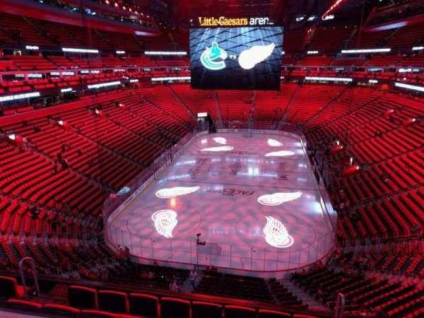 Little Caesars Arena, secção: m2, fila: 2, lugar: 15