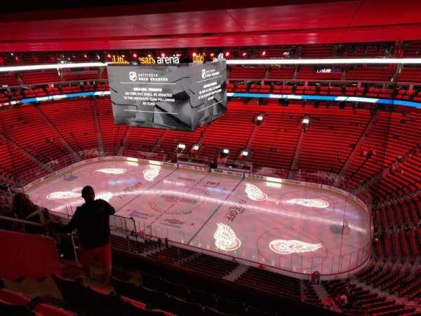 Little Caesars Arena, secção: 209, fila: 6, lugar: 15