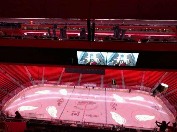 Little Caesars Arena, secção: 225, fila: 11, lugar: 10