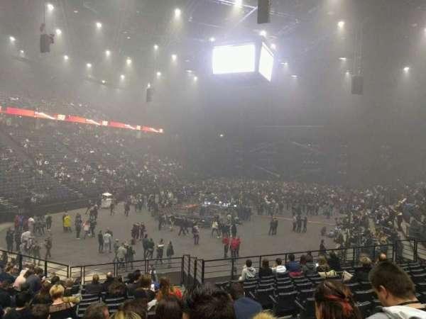 AccorHotels Arena, secção: b, fila: 10, lugar: 21