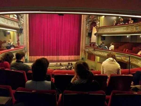 Théâtre Royal du Parc, secção: Premier Balcon, fila: d, lugar: 79