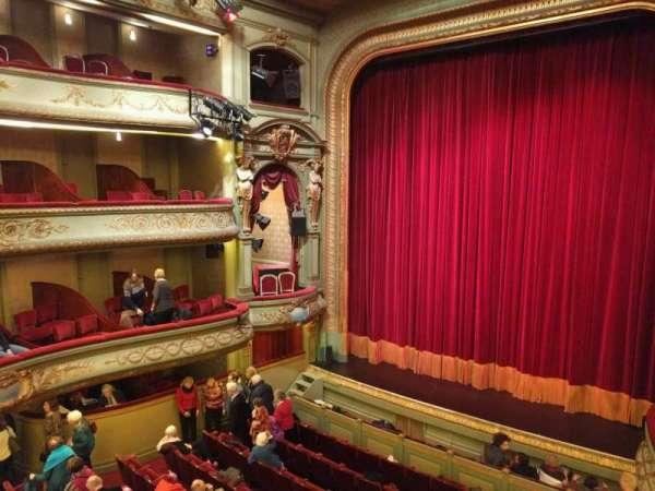 Théâtre Royal du Parc, secção: Troisième Balcon, fila: a, lugar: 6