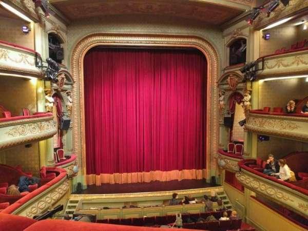 Théâtre Royal du Parc, secção: Troisième Balcon, fila: b, lugar: 43