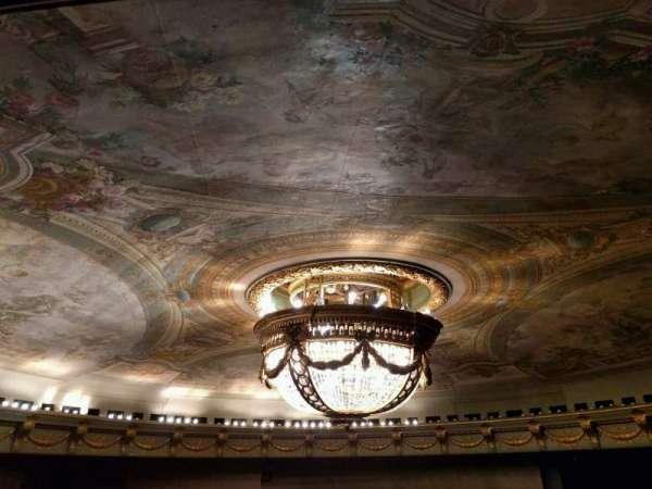 Théâtre Royal du Parc, secção: Quatrième Balcon, fila: a, lugar: 15