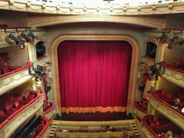 Théâtre Royal du Parc, secção: Quatrième Balcon, fila: a, lugar: 51