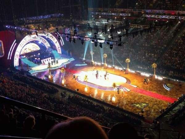 Manchester Arena, secção: 206, fila: q, lugar: 2