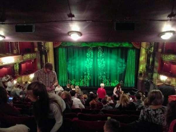 Palace Theatre (Manchester), secção: circle, fila: o, lugar: 25