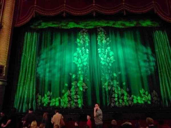 Palace Theatre (Manchester), secção: stalls, fila: f, lugar: 25