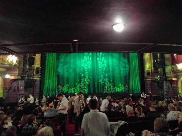 Palace Theatre (Manchester), secção: stalls, fila: p, lugar: 31