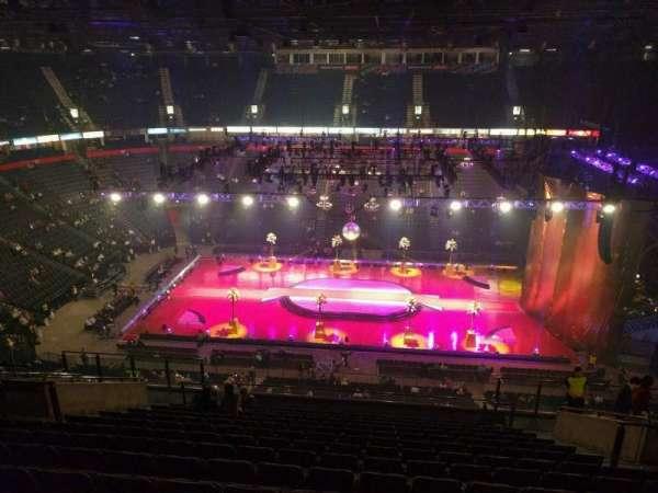 Manchester Arena, secção: 214, fila: p, lugar: 13