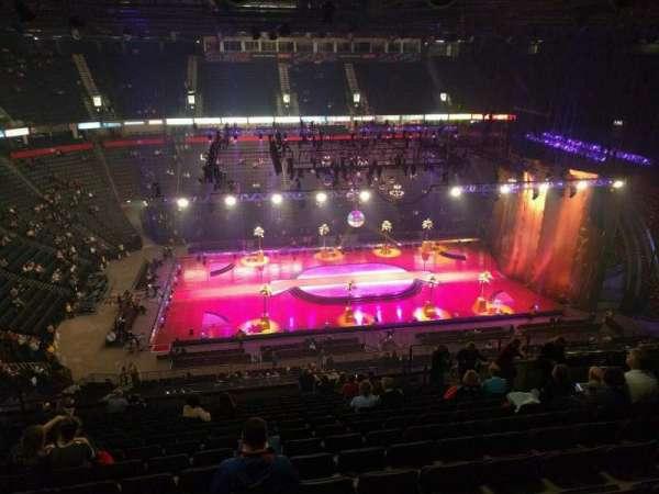 Manchester Arena, secção: 213, fila: r, lugar: 17