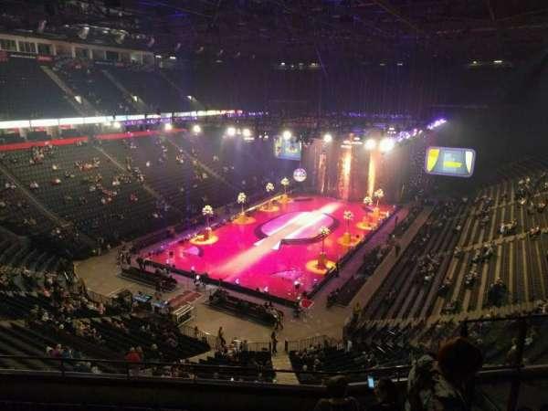Manchester Arena, secção: 210, fila: g, lugar: 17