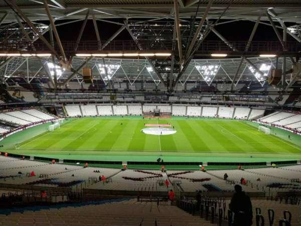 London Stadium, secção: 236, fila: 65, lugar: 439