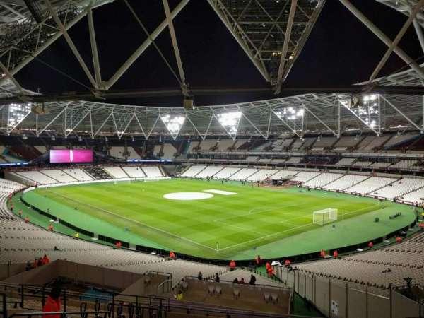 London Stadium, secção: 243, fila: 48, lugar: 199