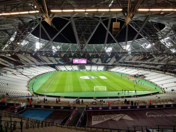 London Stadium, secção: 249, fila: 59, lugar: 42