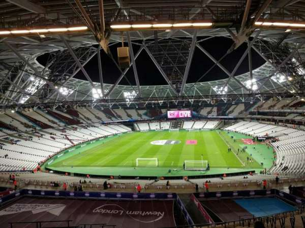 London Stadium, secção: 251, fila: 59, lugar: 824