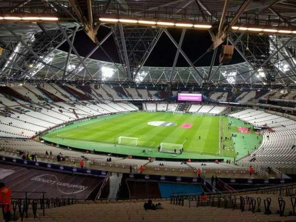 London Stadium, secção: 252, fila: 61, lugar: 790