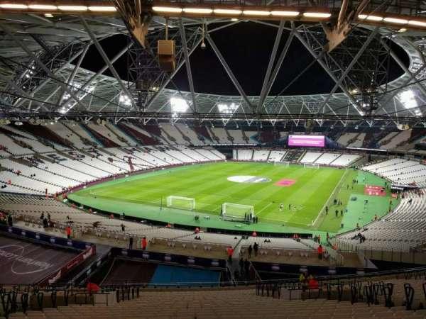 London Stadium, secção: 254, fila: 59, lugar: 759