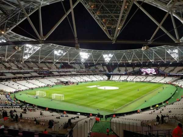 London Stadium, secção: 228, fila: 47, lugar: 696