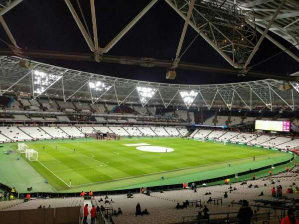 London Stadium, secção: 231, fila: 46, lugar: 600