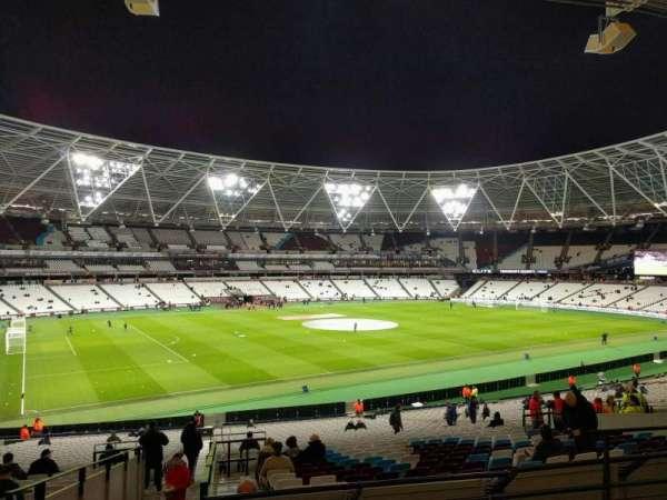 London Stadium, secção: 232, fila: 35, lugar: 564